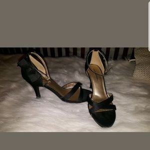 Black sexy womens ladies heels